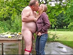 Blonde Teenager Fucks Fat Ugly Old Geezer Free Hd Porn 87