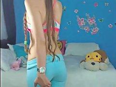 Horny Teen Front Webcam 1