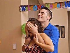 Stepmom Bianca Breeze 3some With Couple