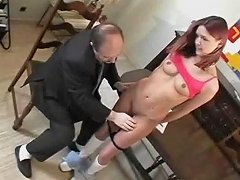 Young Redhead Is Doing A Chubby Guy Free Porn E2 Xhamster